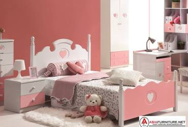 Tempat Tidur Perempuan Princess Pink