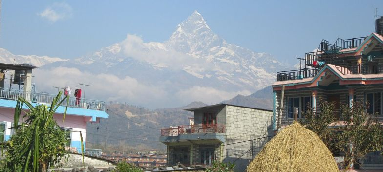 Fishtail Mountain from the Baglung Highway