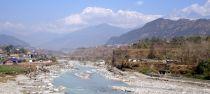 A Scenic rest spot beside the River Seti