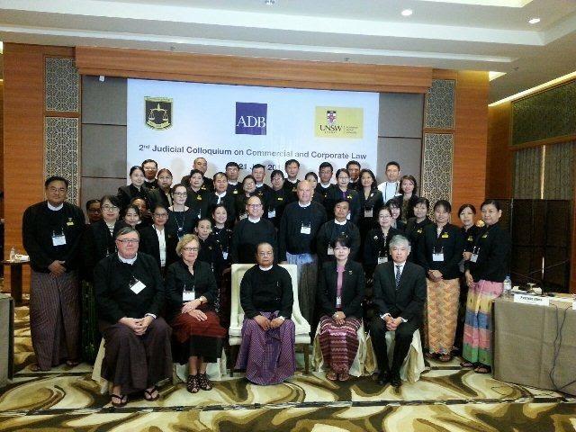 Legal Education and Judicial Training Program in Myanmar