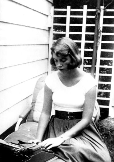 Sylvia Plath Typewriter