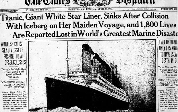 titanic unsinkable ship