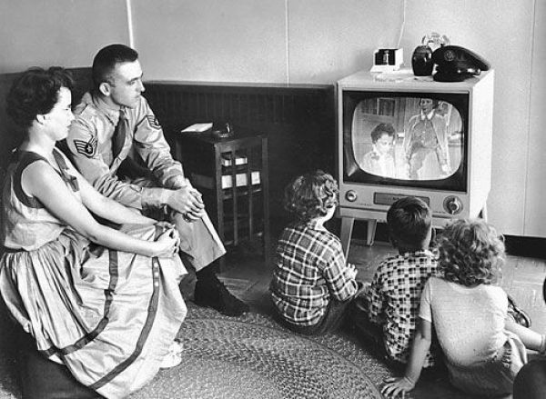 1950s television