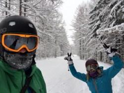 Snowy gorgeous Furano
