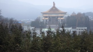 Crazy huge temple on a mountain