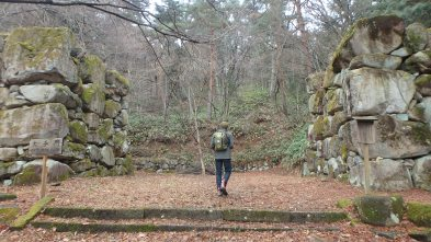 solitude on the walking tour