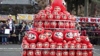 Paper-Mache Dharma dolls