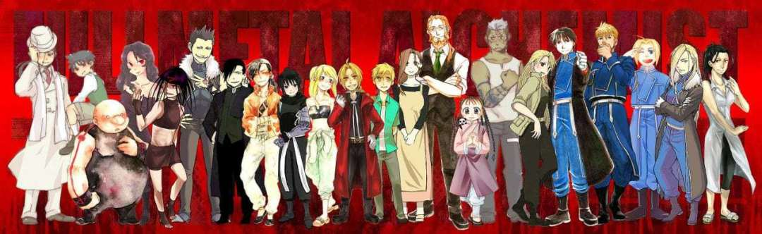 Fullmetal Alchemist: Brotherhood Anime Series