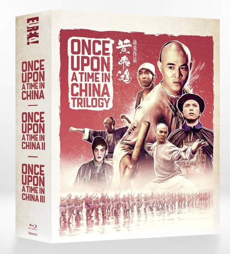 once upon a time in china trilogy blu ray