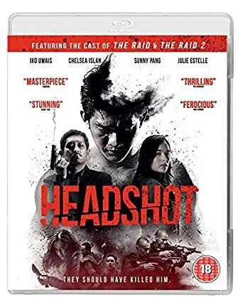 headshot blu ray