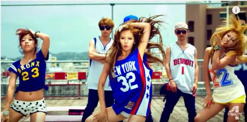 "Hyuna in ""Bubble Pop"""