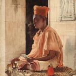 A Sannyasi, A Religious Mendicant (1882) by John Griffiths, watercolour and graphite on paper, 483 X 343 mm, Tate