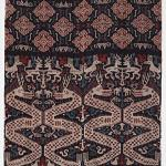 Man's mantle, cotton, warp ikat, 20th century, Indonesia. Gift of the Christensen Fund