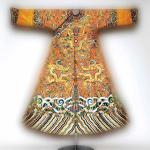 Chinese dragon festival robe worn by Emperor Qianlong, second half of the 18th century, The Metropolitan Museum of Art, Joseph Pulitzer Bequest. Photograph courtesy of the Metropolitan Museum of Art © Platon