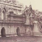 Pugahm Myo: Carved Doorway of Shwe Zeegong Pagoda, 1855, 32 x 26.9 cm