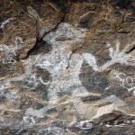 Bowatagala Cave showing a six-fingered figure