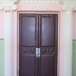 The main door to the auditorium
