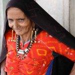 Rabari woman in Kutch, Gujarat, India, 2012. Photo: Thomas K Seligman