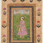 Jahangir by Muhammad Mushin, about 1630-1635, opaque watercolour and gold on paper, unframed: 31.1 c21.4 cm. Credit: Private Collection