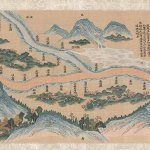 Mingling of Clear and Muddy Water at the Junction of the Jing and Wei Rivers, handscroll, silk, tapestry weave, ink and colours, silk embroidery, China, Qing dynasty, Qianlong period (1736-95), Gift of the John Huntington Art and Polytechnic Trust