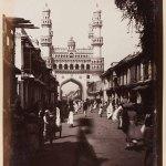 Char Minar, Hyderabad, by Lala Deen Dayal, 1880s. Photos: John Falconer