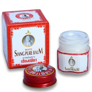 siang pure balm white asian balm cold symptoms nasal congestion dizziness faint dizzy Relief distension colic cramps muscle aches sprains bruises insect bites