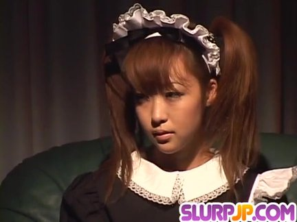Kokoro Wakaba loves jizz in her mouth after
