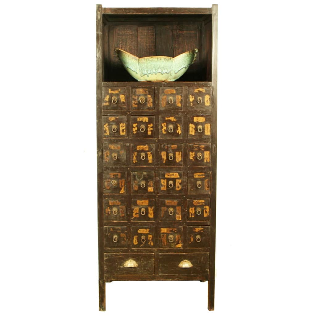 Vintage apothecary cabinet for sale -  1 995 00 Antique Chinese Medicine Herb Display Cabinet