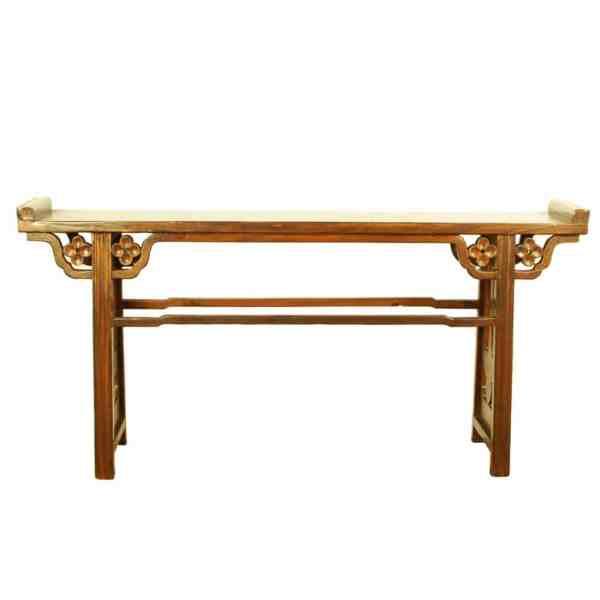 Asian 77 inch Long Altar Console Sofa Table