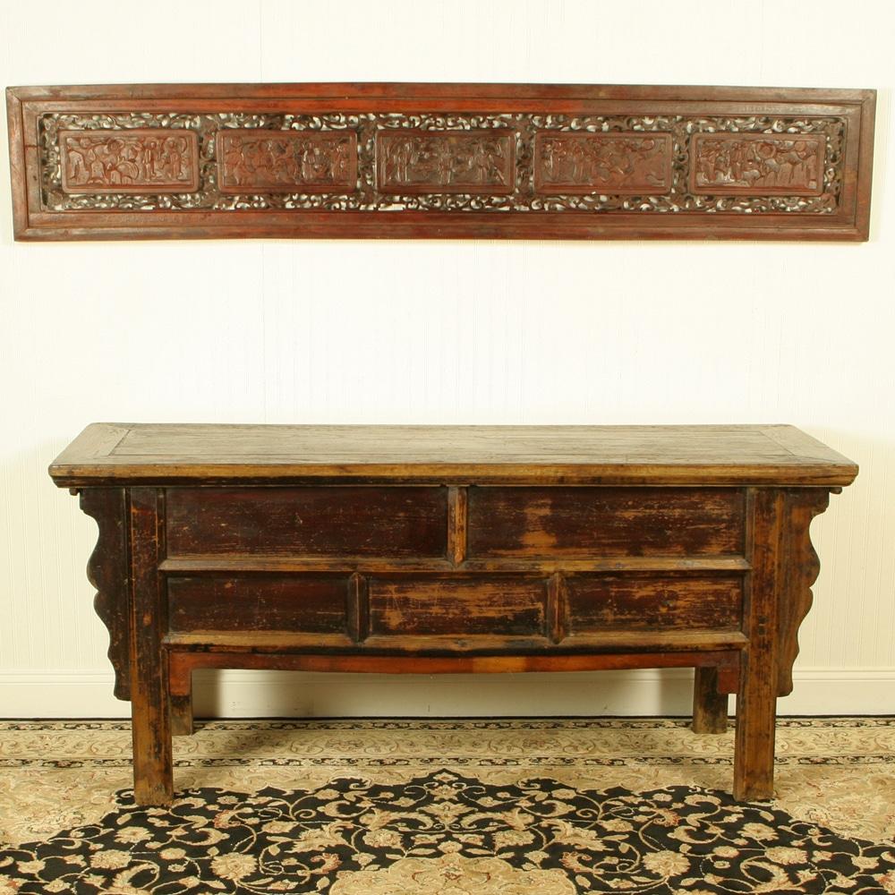 Antique sofa table - Antique Sofa Table 52