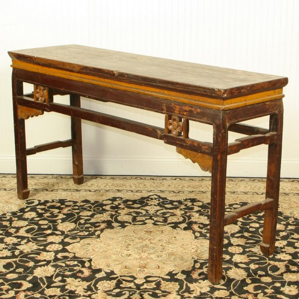 Antique Chinese 63 inch Sofa Hall Table