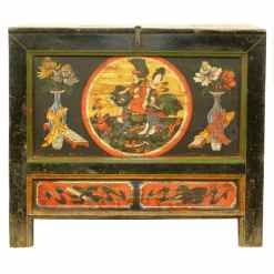 Antique Chinese 37 inch Wide Cabinet Chest
