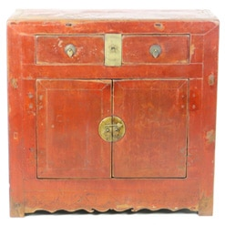 antique-chinese-38-inch-wide-37-tall-2-door-red-cabinet