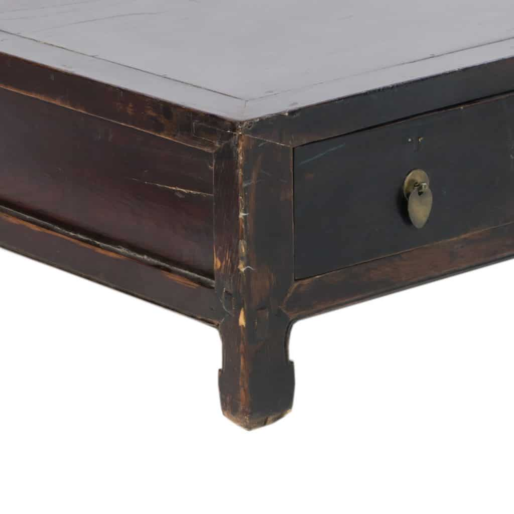 Antique Chinese Coffee Table 55 Inch Long 11 Inch Tall 4