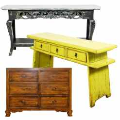 Reproduction and Vintage Asian Furniture