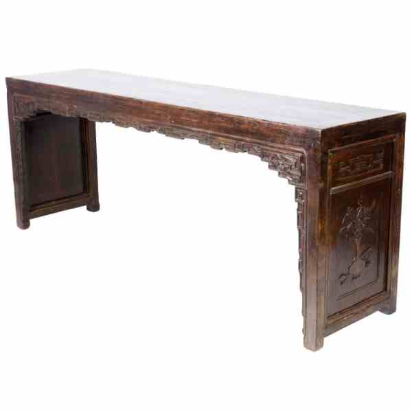Antique Chinese 87 Inch Painting Table