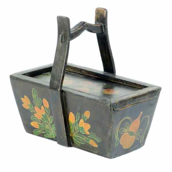 Antique Chinese Painted Food Box