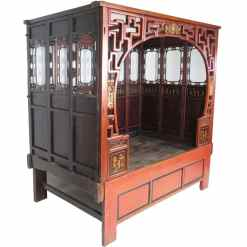 Chinese Wedding Opium Bed