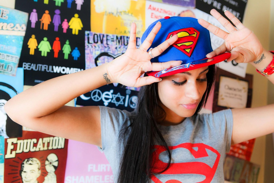 Lilly Singh's (Superwoman) Bollywood ambition Asian