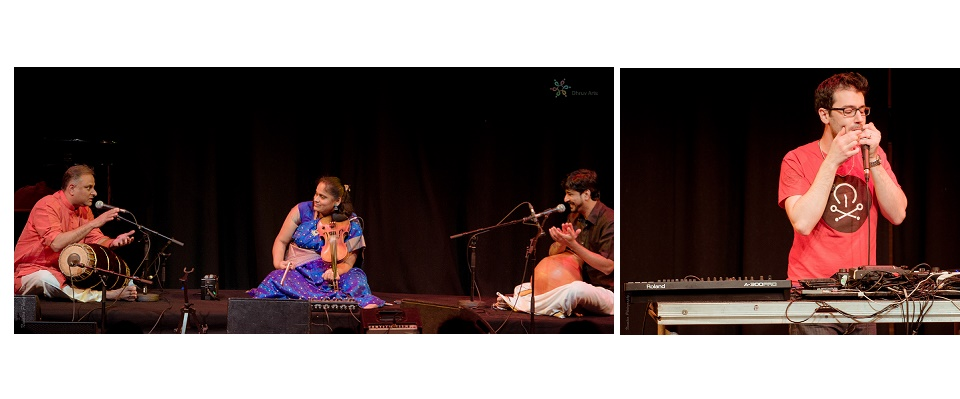 Carnatic beatbox review: A Violinist, a beatboxer and a dosa