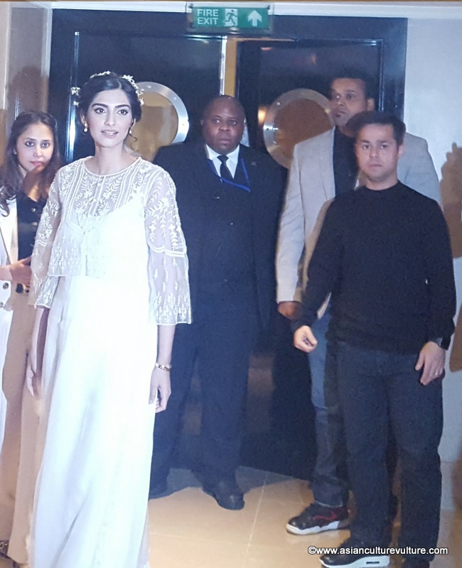 Sonam Kapoor caught in the moment