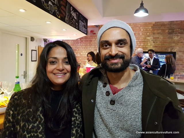 Sarah Sayeed, spoken word and music artist and Devesh Kishore (actor). One of Sayeed's works was read by Kishore in the afternoon at the venue.