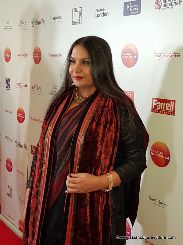 Shabana Azmi UK Asian Film Festival