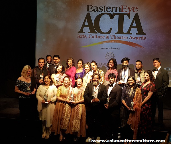 Eastern Eye Arts, Culture and Theatre Awards 2019(ACTA