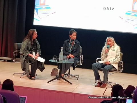 Manisha Koirala ZEEJLF at British Library 2019