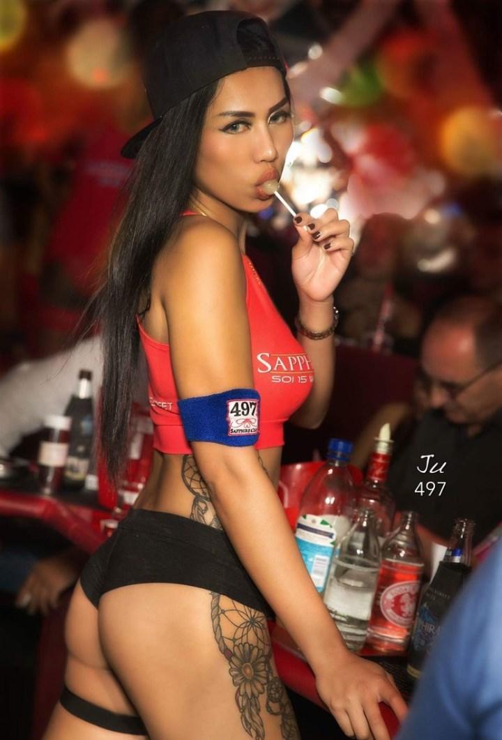 Lollipop thai girl