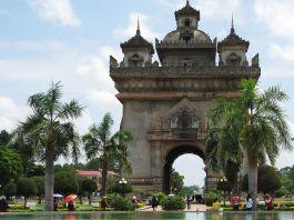 Patuxai, Vientiane, Laos