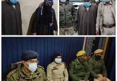 Baramulla police solves blind murder case, wife among two arrested