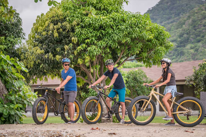 Astoria Palawan Biking Area