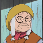 Old Anime Lady